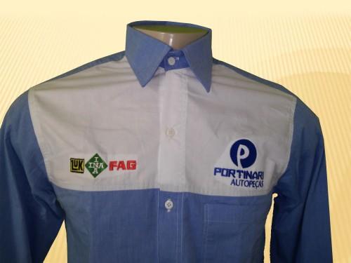 9878e60275 Camisa social para uniforme - Jomar Uniformes