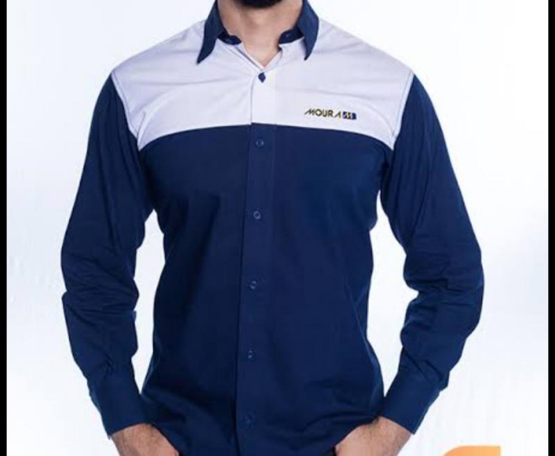 Camisa Administrativa Masculina Modelo 8