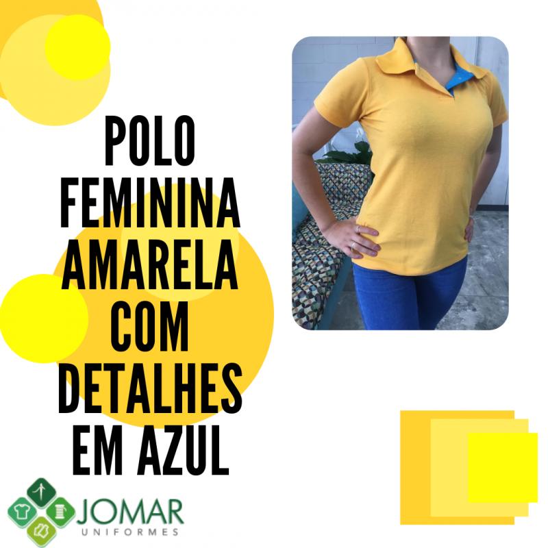 POLO FEMININA MODELO 34