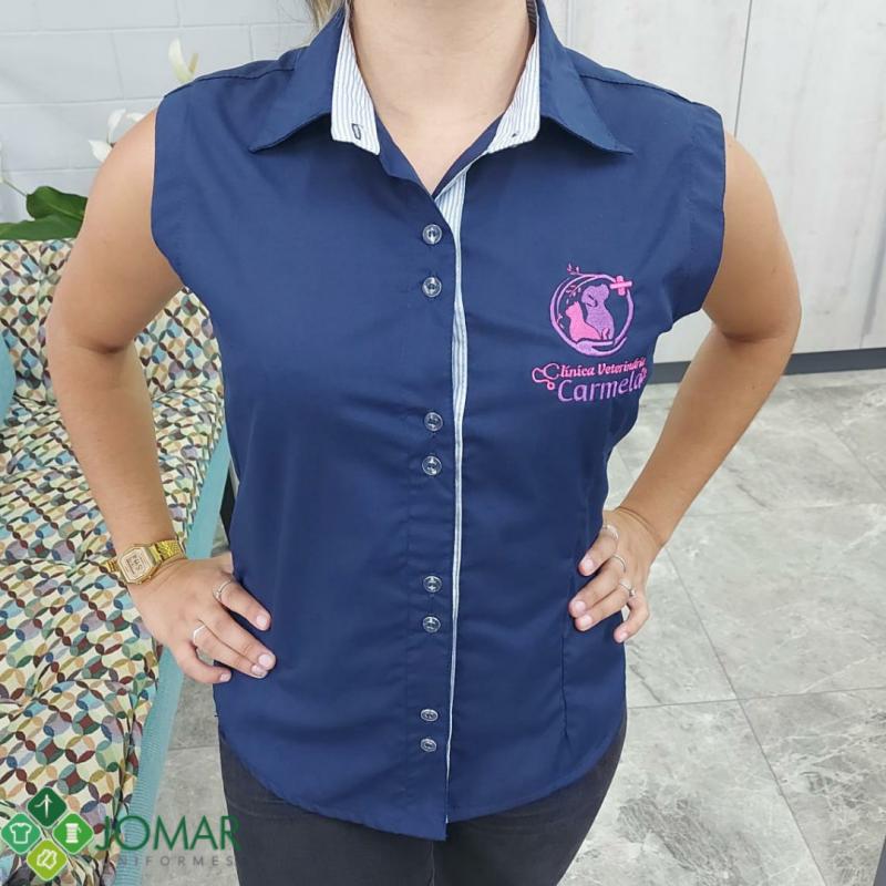 Camisa Social Feminina modelo 3