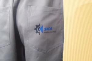 Calça para uniforme industrial