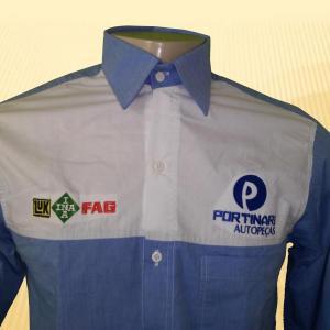 Camisa Administrativa Masculina Modelo 7