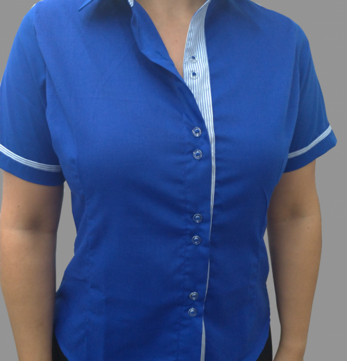 Camisa Social Feminina Modelo 1