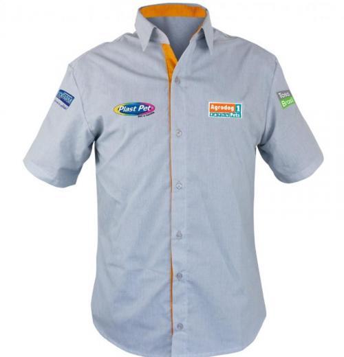 Camisa Administrativa Masculina Modelo 9